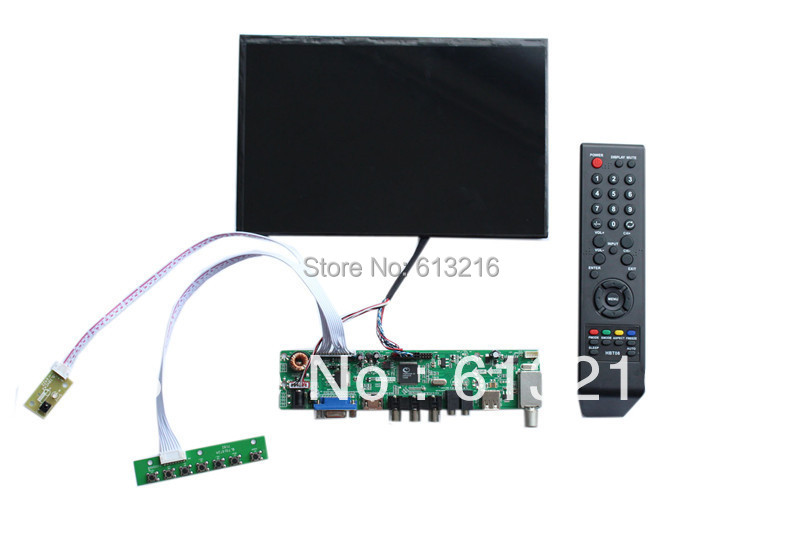 HDMI- VGA -AV  LCD TV controller  board ++N101ICG-L21 1280*800 +LVDS cable +OSD keypad with cable +Remote control with receiver hdmi vga av lcd tv board 21 5 inch lcd panel lvds cable inverter with cable osd keypad board remote control