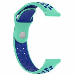 Image 3 - Samsung galaxy silicone watch active watchband  sports watch strap for Samsung Gear Sport / S2 classic Huawei watch2/ watch2 pro