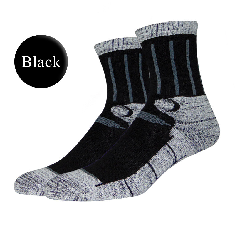 Outdoor Skiing Mountaineering Socks Men Male Professional Breathable Cotton Socks Travel Hiking Running Trekking Socks