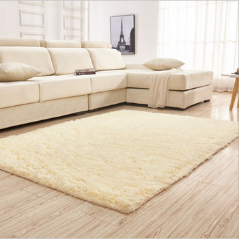 New! Free Shipping 1300mmx1800mmx45mm Stylish  Solid Color Household Rug Carpet