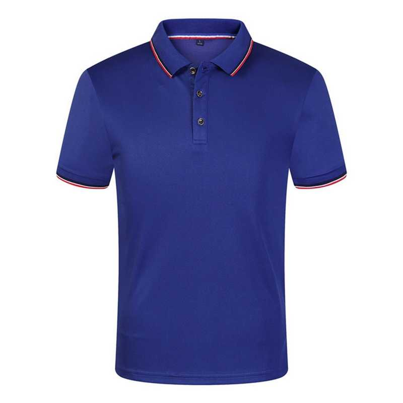 Men Summer Polo Shirts Cotton Short Sleeve Breathable Anti-Pilling New 2019 Solid Brand Polos Tops Tees hombre Plus Size S-3XL