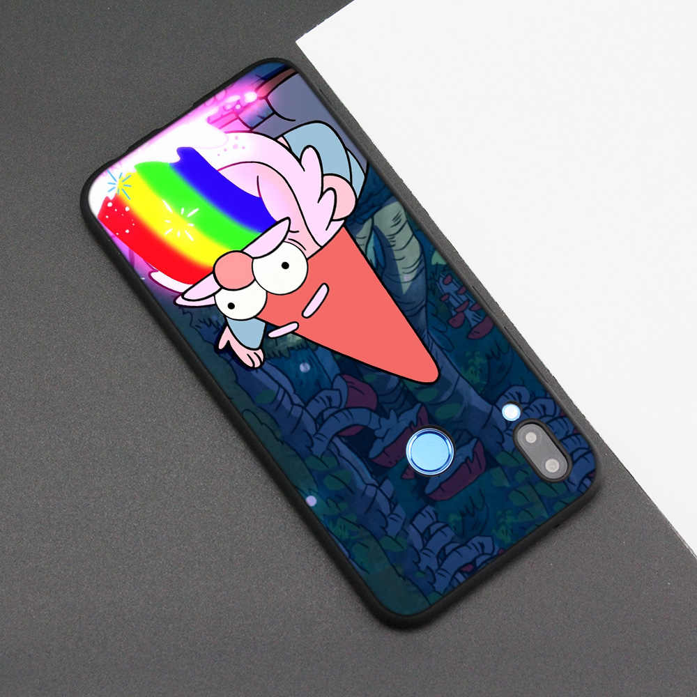 Cubierta de la caja de silicona para Huawei P20 P10 P9 P8 Lite Pro 2017 P inteligente + 2019 Nova 3i 3E teléfono los casos de Gravity Falls