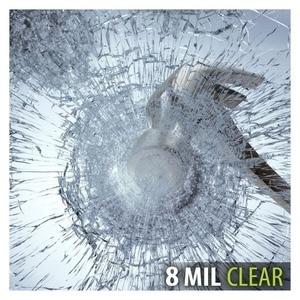 Image 1 - S8MC folia okienna bezpieczeństwo i bezpieczeństwo wyczyść 8 Mil (36 cali X 12 stóp)