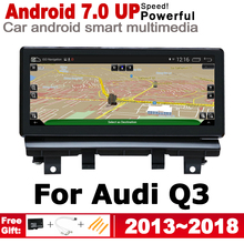 IPS Android 7.0 up Car Multimedia Player GPS Navigation For Audi Q3 8U 2013~2018 MMI Original Style HD Screen 2GB+32GB WiFi BT
