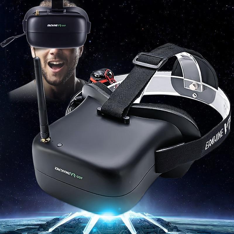 Eachine VR-007 Pro VR007 5.8G 40CH FPV lunettes 4.3 pouces avec batterie 3.7 V 1600 mAh pour Drone RC