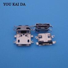 1000 pcs Para THL W100s W100 W200 W200s V7 V12 W7 T3 T2 T100 T100S Mini micro USB de Carregamento Carregador Porta do Conector Dock tomada