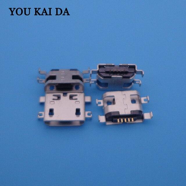 1000 pcs THL W200 W200s W100 W100s V12 V7 W7 T3 T2 T100 T100S 미니 마이크로 USB 충전 충전기 포트 커넥터 독 소켓