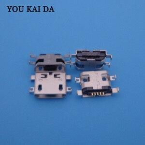 Image 1 - 1000 pièces, pour THL W200 W200s W100 W100s V12 V7 W7 T3 T2 T100 T100S, connecteur de Port de chargement micro USB, prise de Dock