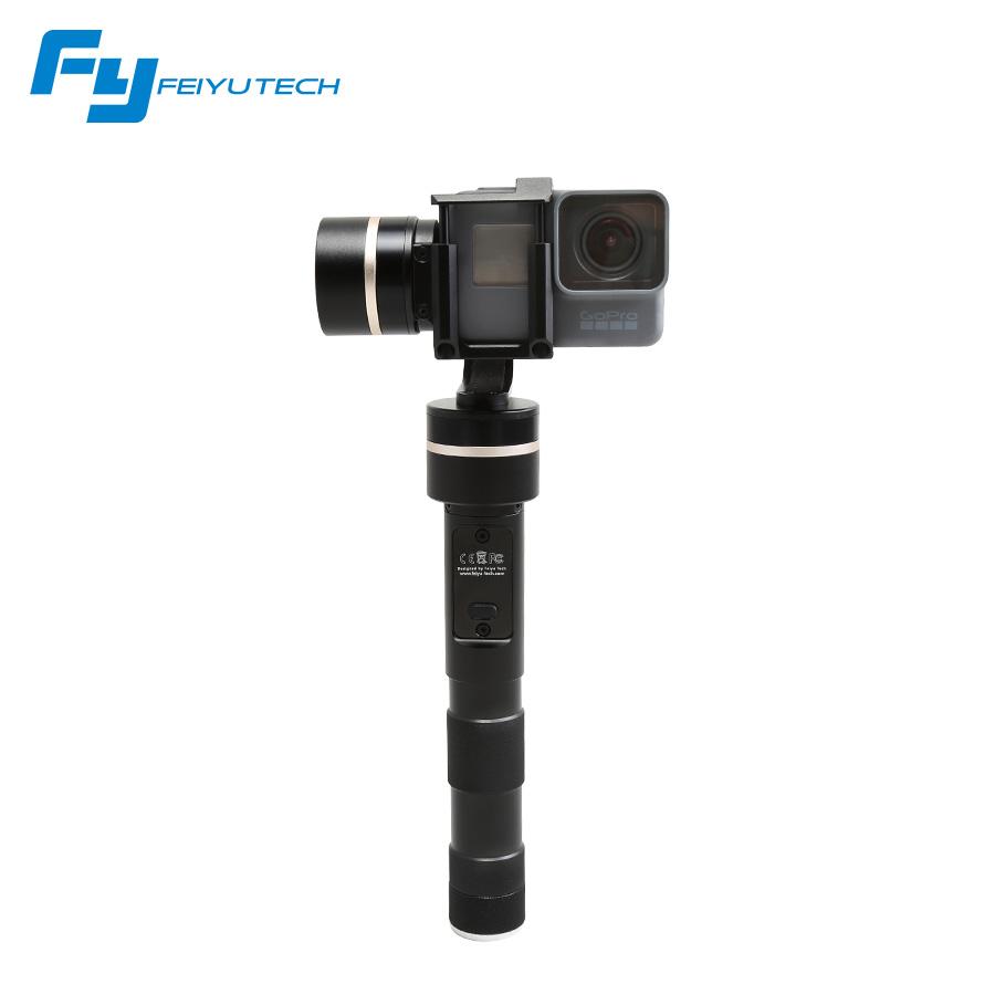 Prix pour Feiyu Tech FY G4 mise à jour version pour gopro 5 caméra/FY-G4 QD 3 Axes cardan pour poche cardan feiyu G4-QD pk G5 cardan