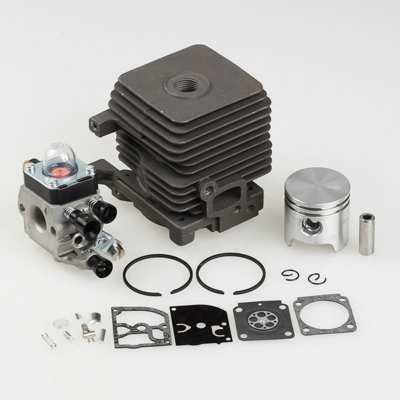 New 34mm Cylinder Piston Kits Fit STIHL FS55 FS45 BR45 KM55 HL45 HS45 KM55 HL45 HS45 HS55 Trimmer Carb 4140 020 1202 кромкорез со штоком stihl fcb km