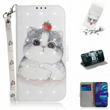 Cat 3D Photo Phone Bags Case For Asus Zenfone 3 4 Max Plus Pro 5 5Z ZC520TL ZC554KL ZB555KL ZB570TL ZB601KL ZS620KL ZE620KL E26Z сотовый телефон asus zenfone 5 ze620kl 4 64gb midnight blue