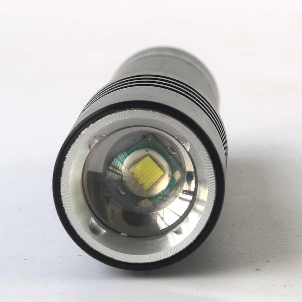 Z15DV02 Duiken LED Zaklamp Zaklamp 3800Lm XM-T6 Dive Onderwater 80 Meter Lamp Lanterna met 18650 USB AC Car Charger doos