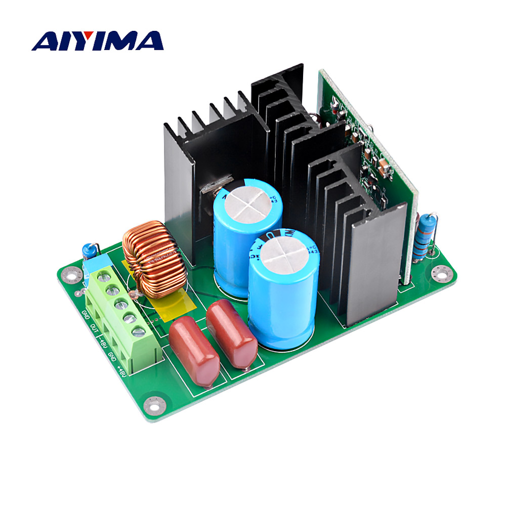 Irs2092 Mono Amplifier Board Dc Power 350w Using Class D Circuit Lm1036 Tone Controlled Audio Aiyima 500w Digital Hifi Amplifers 4ohm 8ohm Speaker Home Theater Diy