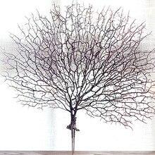 Белое растение, украшение для дома, свадьбы, Искусственные коралловые ветки, искусственные ветви деревьев, сушеные растения J2Y