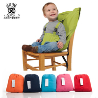 New Baby Chair Portable Infant Seat Product Dining Lunch Chair Seat Safety Belt Feeding High Chair