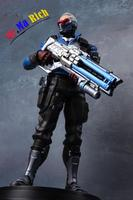 """OW Soldier 76 PVC Figure Figurine Statue Toy 11"""" 2nd Generation"""