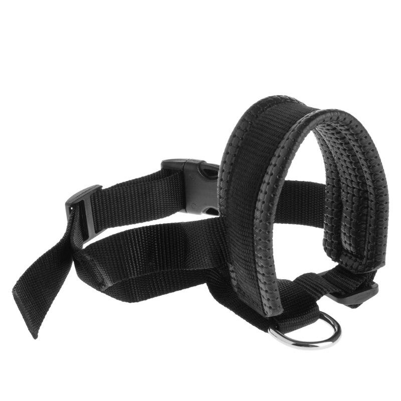 Pet Dog Padded Head Collar Gentle Halter Leash Leader Stop Pulling Training Tool