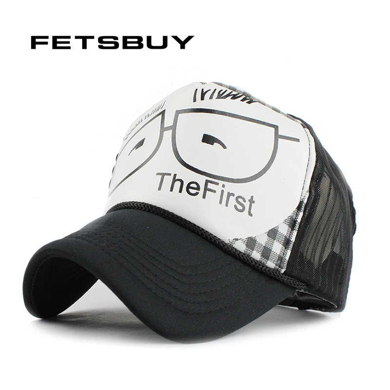 fetsbuy trucker baseball cap hat vintage casquette lightning women men gorras hip hop baseball. Black Bedroom Furniture Sets. Home Design Ideas