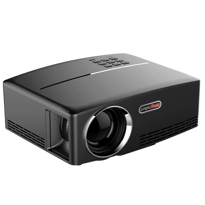 HIPERDERL Smart Home Home Cinema Theater Multimedia LED LCD Projector HD 1080P PC AV TV VGA USB HDMI Au1 стоимость