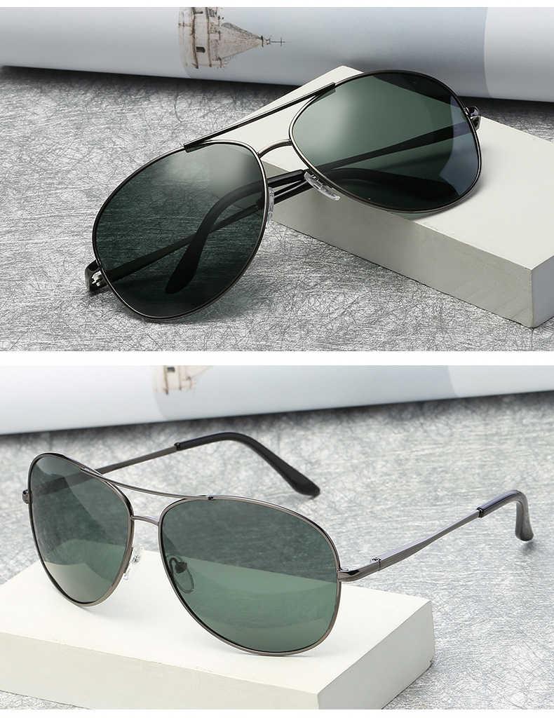 78201a8a6a Gafas de sol polarizadas para hombre BAVIRON gafas de sol redondas para  hombre uva uvb gafas de sol clásicas de Metal para conducir con espejo