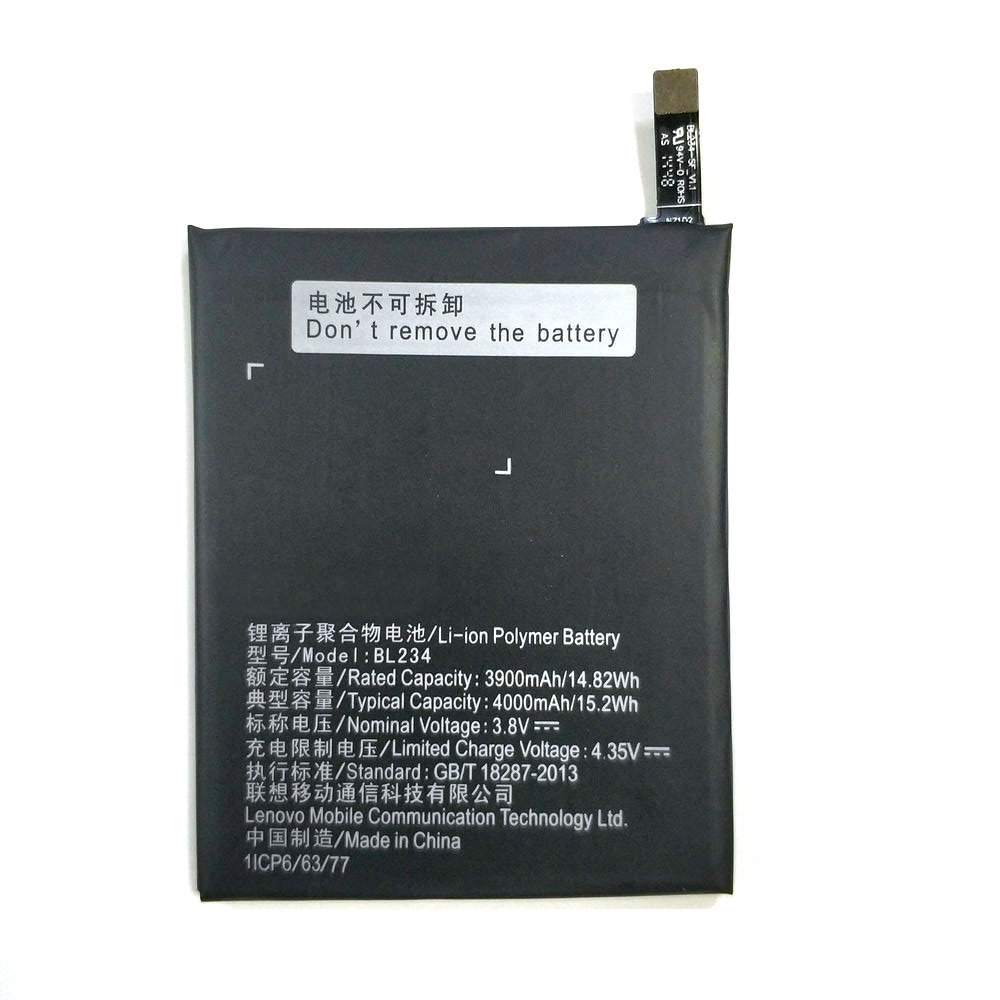 New High Quality BL234 4000mAh Battery For Lenovo P70 P70t P70-T Mobile Phone + Tracking Code image