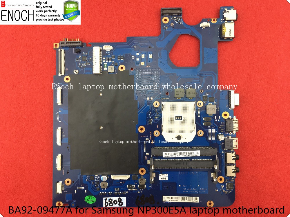For Samsung NP305E5A  Laptop Motherboard   Integrated BA92-09477A BA92-09477B BA41-01820A  store No.034 ba92 05127a ba92 05127b laptop motherboard for samsung np r60 r60 ddr2 intel ati rs600me mainboard