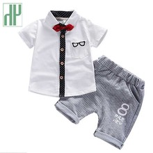 Boys summer clothes Short Sleeve Sport Suit Children for boys Set Cotton Outfit Costume boutique kids clothing sets