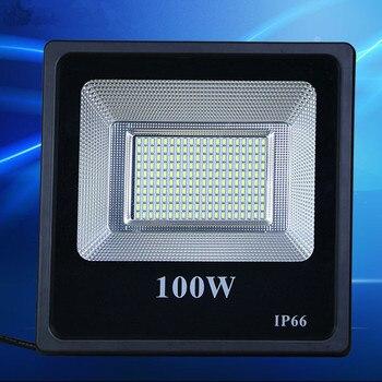 Хорошее качество ультратонких светодио дный прожектор 10W 20W 30W 50W 100 W 150 W 200 W IP66 светодио дный прожектор Наружное освещение Бра прожектор