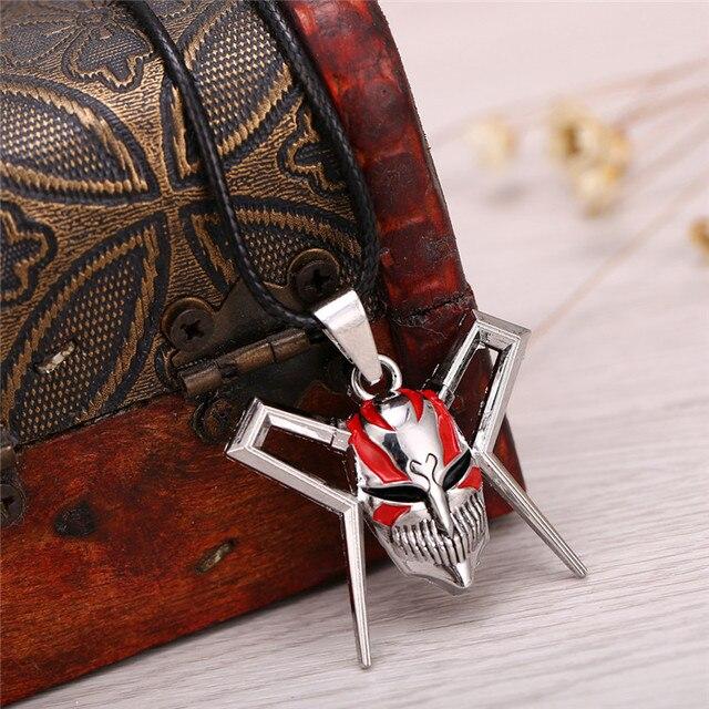 Bleach Mask Logo Pendant Necklace