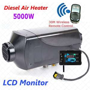 Parking Heater With Remote Riscaldatore LCD Monitor Car Heater 5KW 12 V Air Diesels