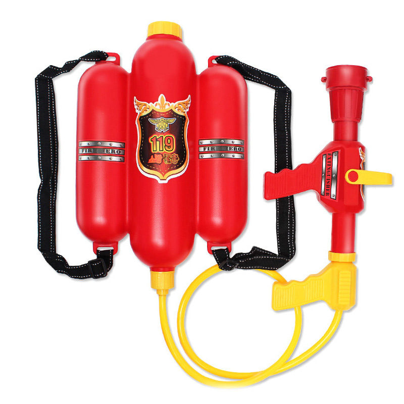 Backpack Fireman Toy Water Gun Sprayer Squirter For Children Summer