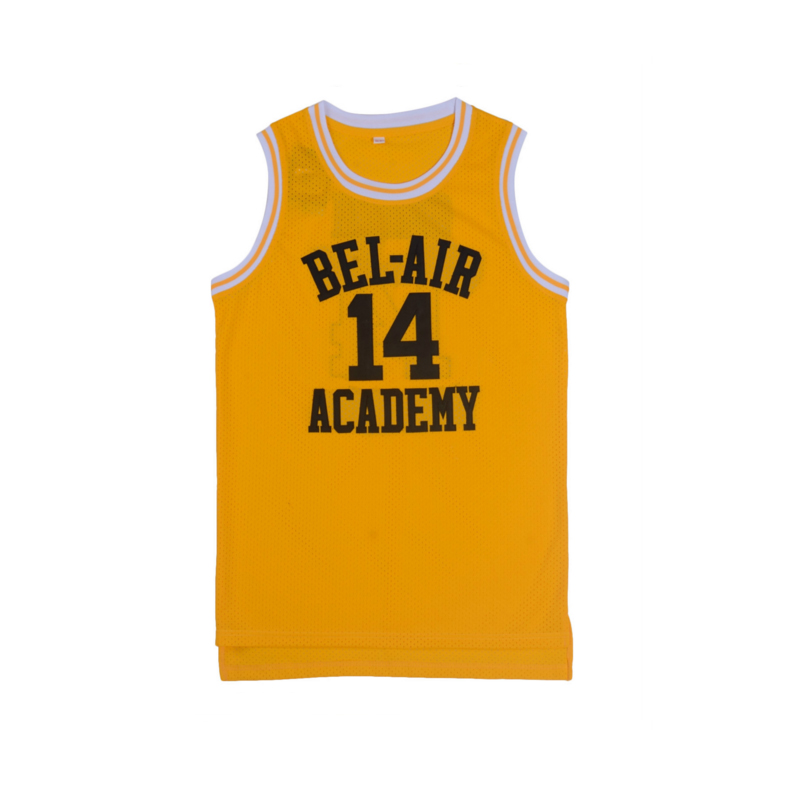 Iverson Basketball Jerseys Will Smith  14  25 Bel Air Academy Basketball  Jersey Stitched Sewn 2ae15c97a