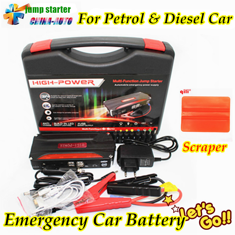 2018 New Arrival High Capacity Car Jump Starter Mini Portable Emergency Battery Charger for Petrol & Diesel Car