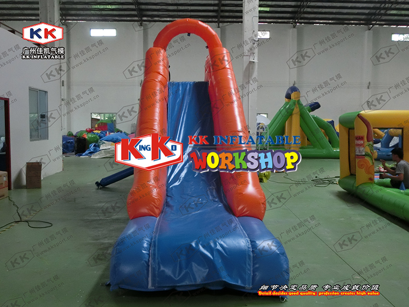 Small indoor outdoor naughty castle Single child inflatable slideSmall indoor outdoor naughty castle Single child inflatable slide
