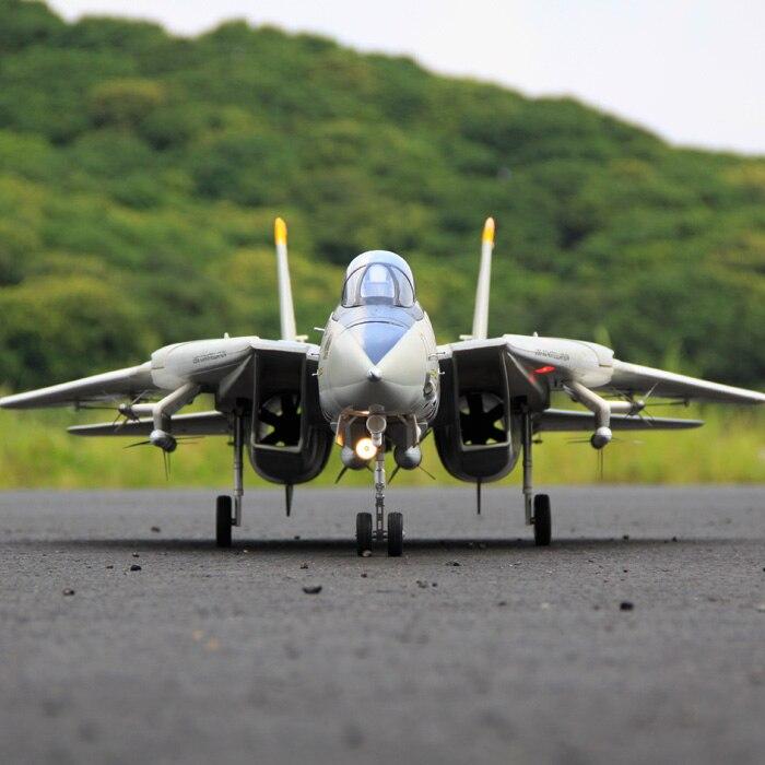 Freewing Dual 80mm rc เครื่องบิน jet รุ่น F 14 Tomcat ตัวแปรกวาดปีกชุด servos-ใน เครื่องบิน RC จาก ของเล่นและงานอดิเรก บน   1