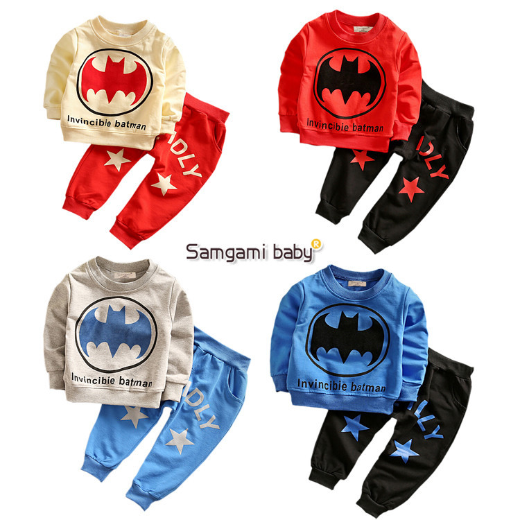 Children Clothing Sets Kids Superhero Spiderman Pajamas Sleepwear