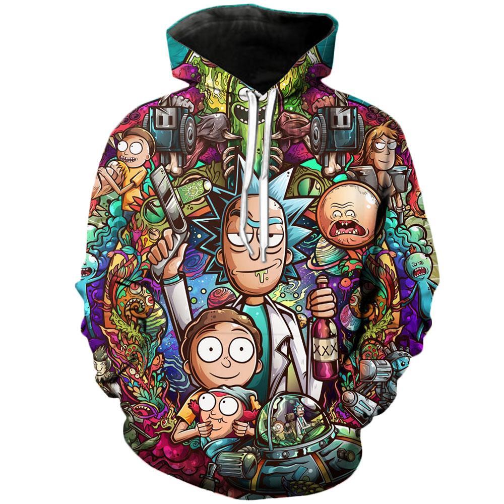 Art 3D Unisex Sweatshirt Men Brand Hoodie Casual Tracksuit Pullover Anime Hoodie 6