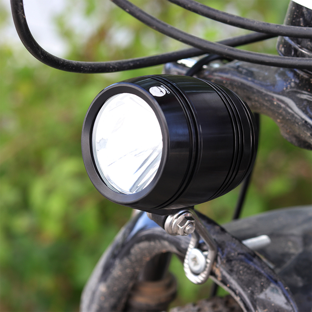 Onature dynamo bike light 70 lux input AC6V 3W meet German Stvzo standard with button turn on and off led bicycle dynamo light