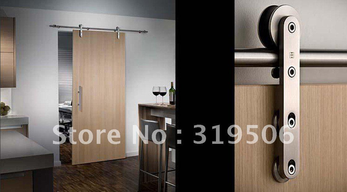 Modern Barn Door Hardware For Wood Door Free Shipping In Doors From