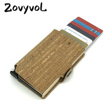 ZOVYVOL 2019 New Single Aluminum Box Vintage ID Holders  Plastic Card Holder Women and Men RFID Wallets Business Cases