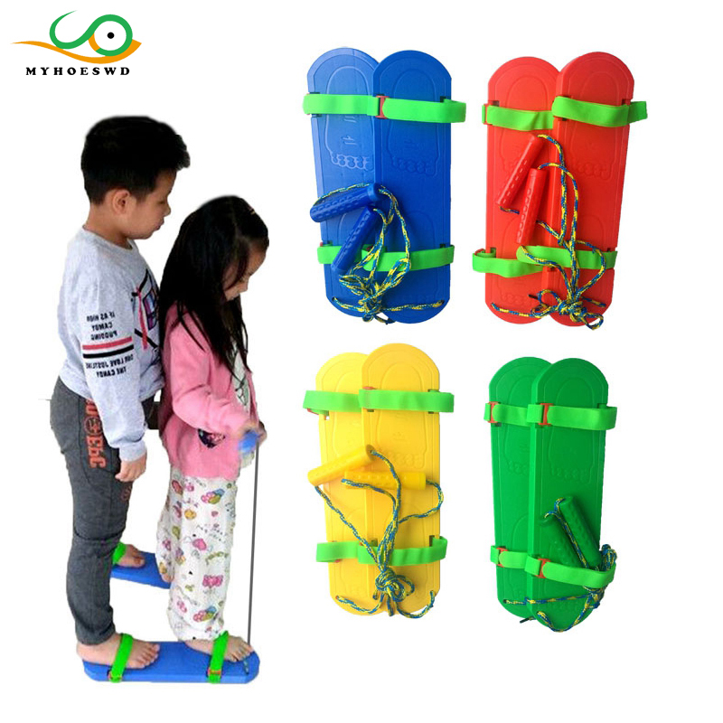 MYHOESWD Outdoor Games for Kids Walk Toy Kindergarten Educational Interactive Toys for Kids Bounce Shoes Toys Child Fun Sports