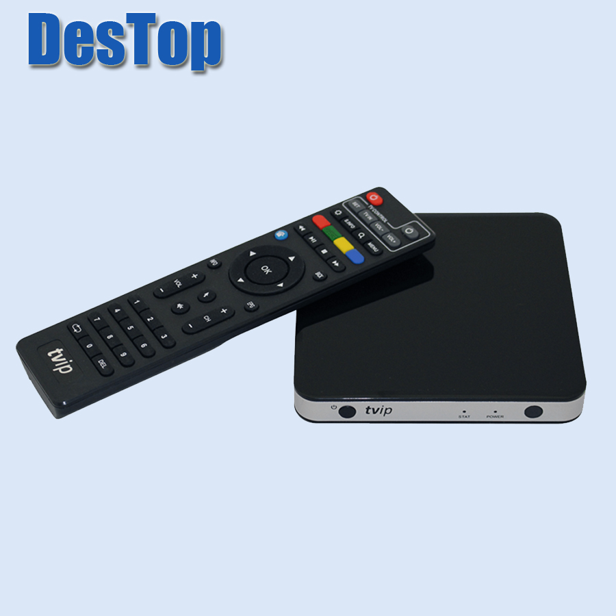 Mini Set Top Box TVIP 605 Box Linux 4 4 Doppio Sistema support H 265 1920x1080