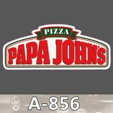 A-856 Papa John Wasserdichte Mode Kühle DIY Aufkleber Für Laptop Gepäck Skateboard Kühlschrank Auto Graffiti Cartoon Aufkleber