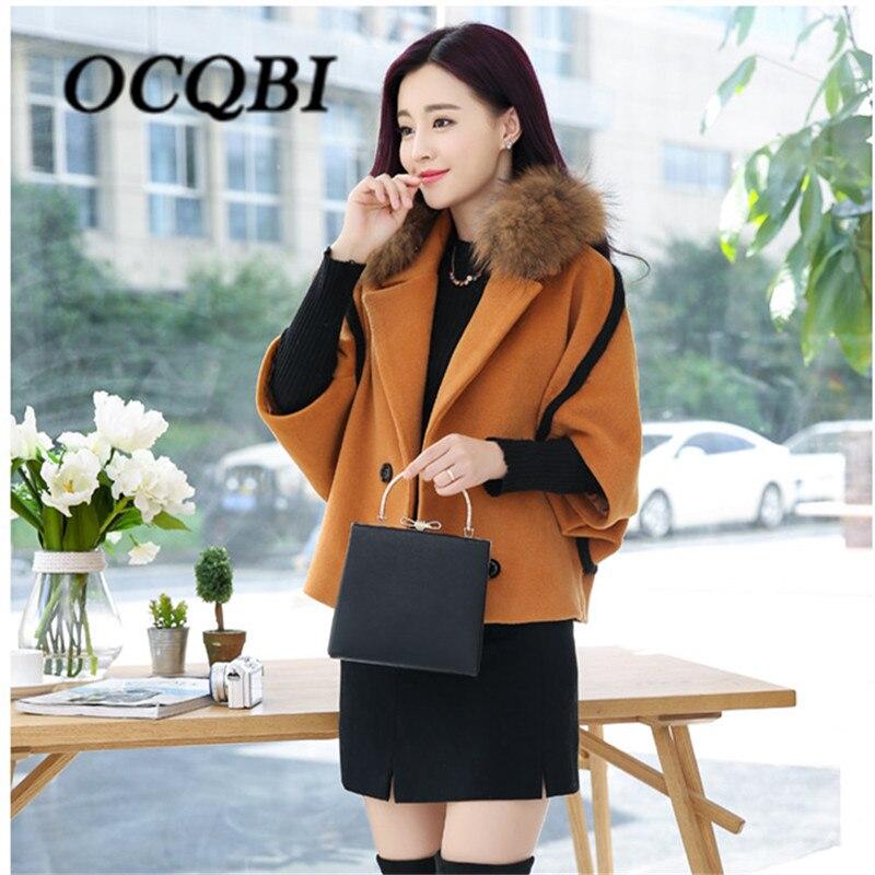 Spring Elegant Women Slim Coat Fur Color Short Sleeve High Quality Streetwear Red Yellow Coat 2018 1
