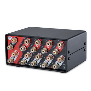 Image 2 - Nobsound 4 Kanal Lautsprecher Selector Switch Box Hub Stereo Distributor Splitter