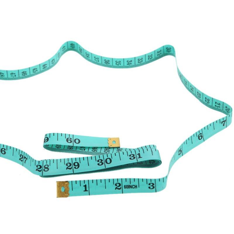 4 шт. 60 дюймов 1,5 м Рулетка для измерения размеров тела швейная лента для измерения мягкой плоской швейной линейки измерительная лента случайный цвет