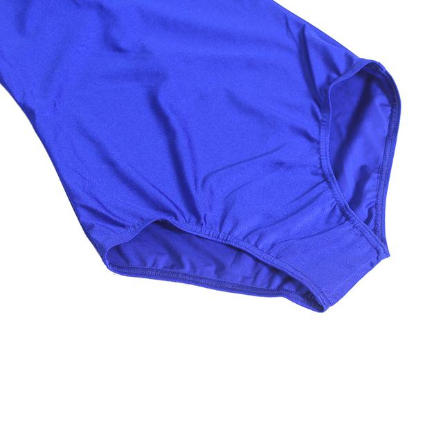 Adult Spandex Lycra Mock Neck Leotard Mens Long Sleeve Short Unitard Bodysuit Dance Costumes Men Zipper Back Body Suit Dancewear