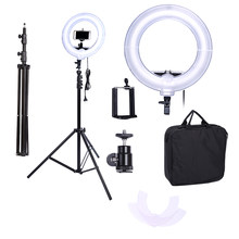 Camera Photo Video 13 inches Ring Fluorescent Flash Light Lamp for Portrait,Photography,Video Shooting with Tripod NO Dimmable(China)