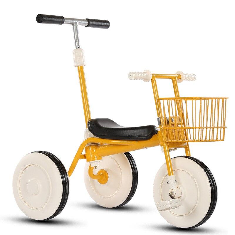Nouveaux enfants trois roues Balance vélo Scooter bébé marcheur Portable vélo bébé poussette vélo bébé marcheur Tricycle équitation jouets