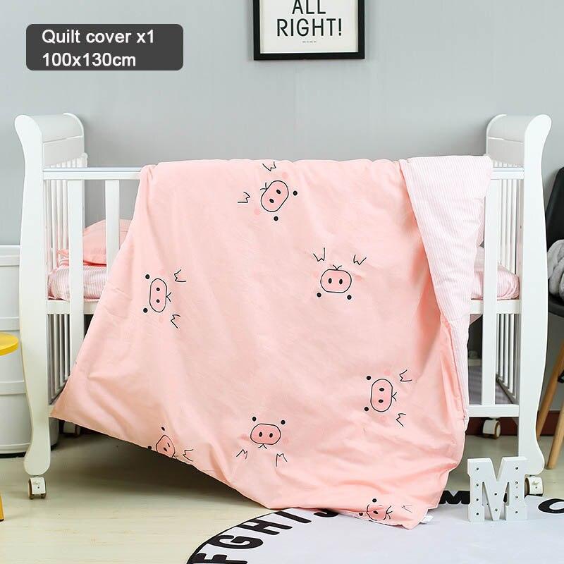 Bettw/äsche-Set f/ür Baby//Kinder Tiere 120x150 cm 100/% Baumwolle